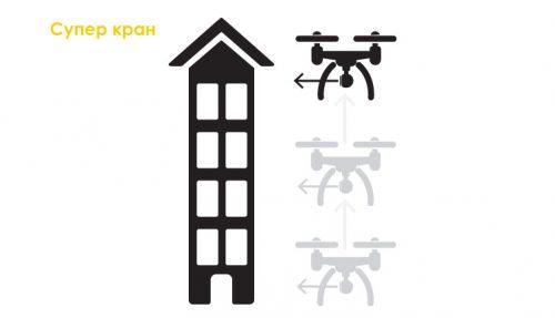 дрон - кран